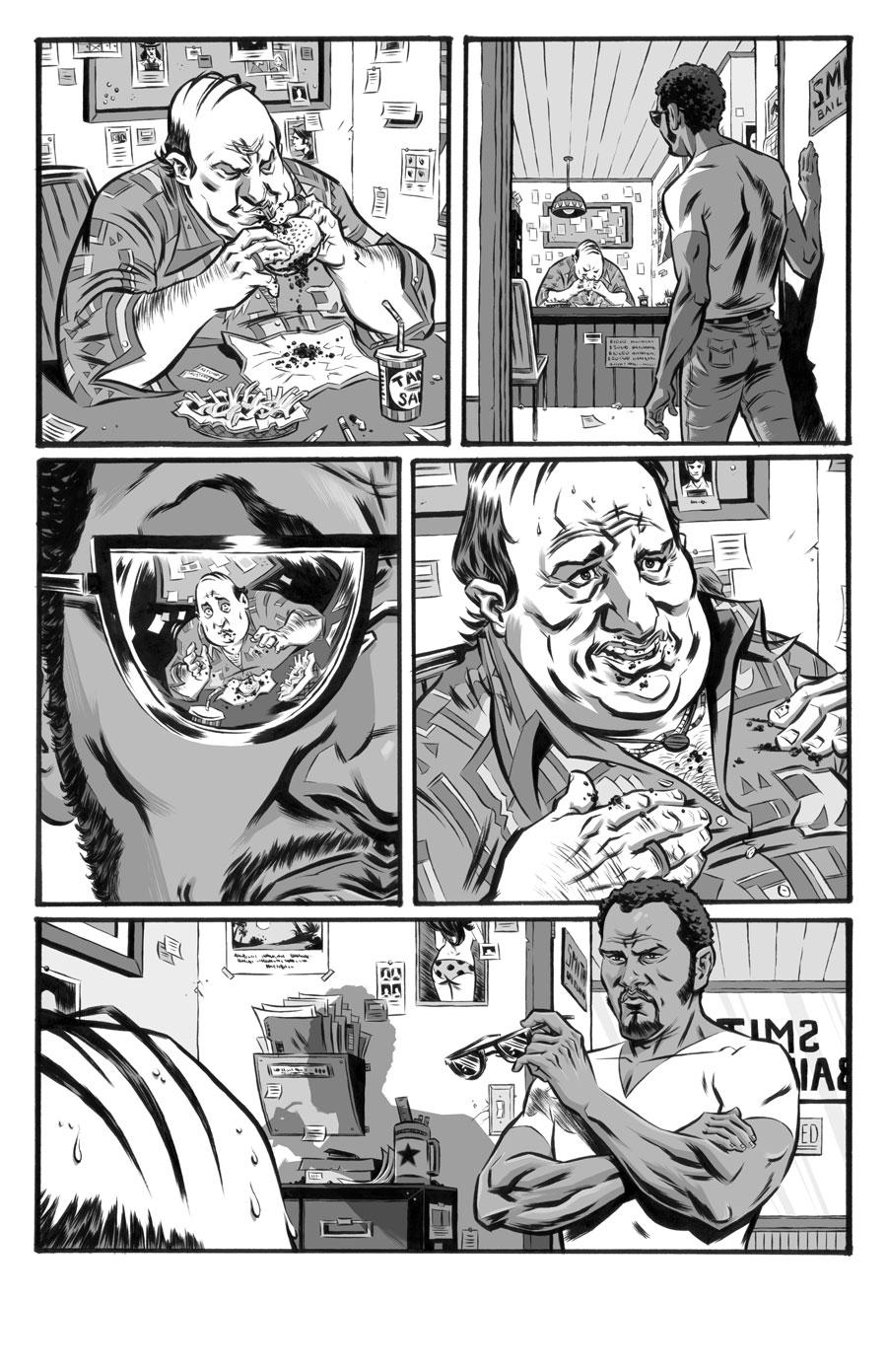 Cool  Writer:  Seth Peck  Artist:  Tigh Walker   IMAGE, 2008