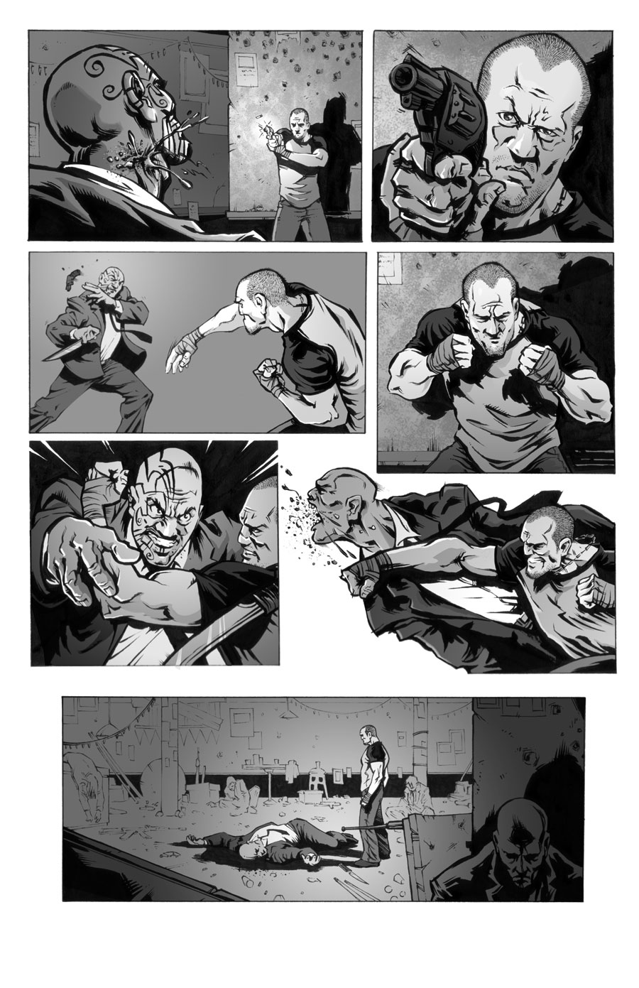 The Boxer  Writer:  Seth Peck  Art:  Tigh Walker   IMAGE, 2005
