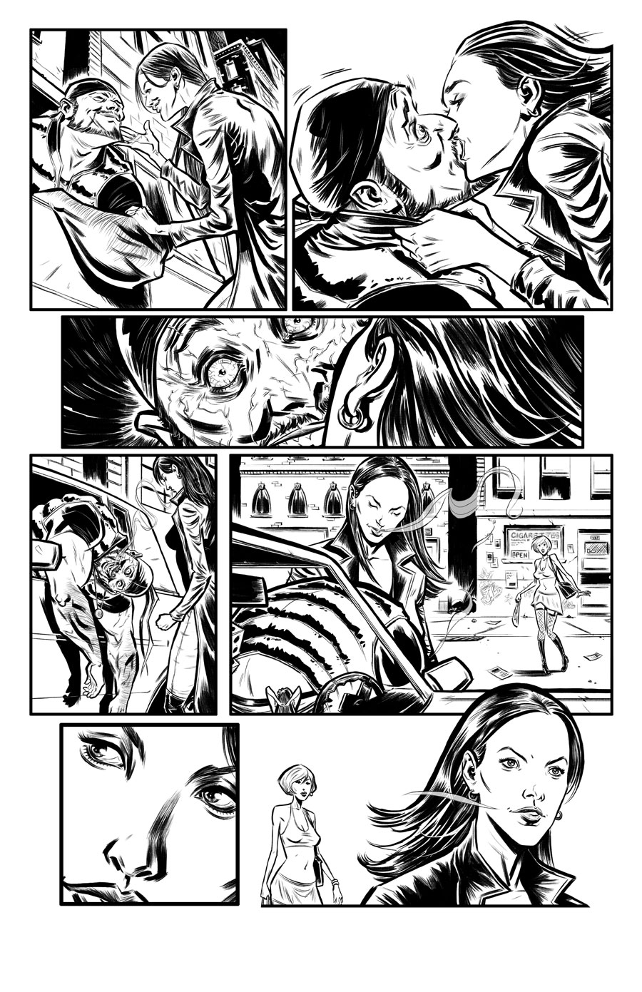 Lost Girl Prologue  Writer:  Navid Khavari  Art:  Tigh Walker BEDLAM INK, 2010