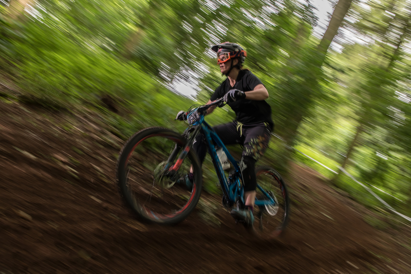 Jo Ponting out and about riding Enduros down South