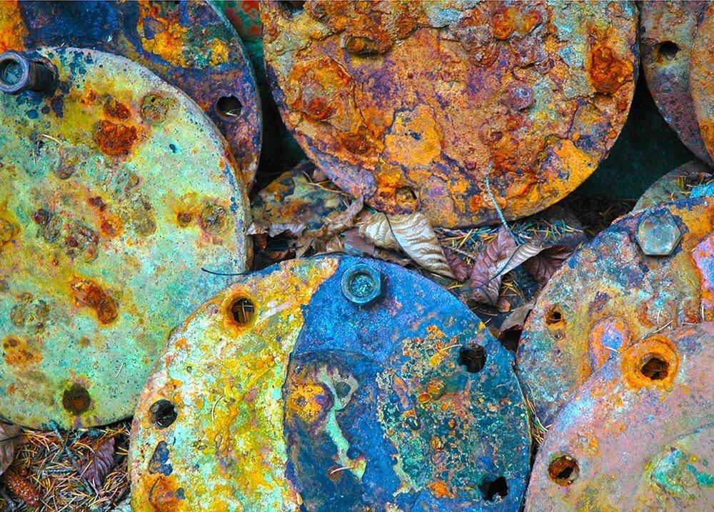 """Bright Discs"" - Photograph"
