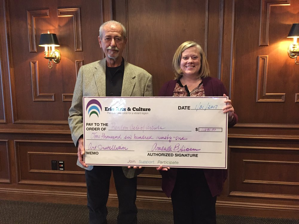 PPA check presentation a the Shenango Valley Chamber of Commerce 2017 Outlook breakfast