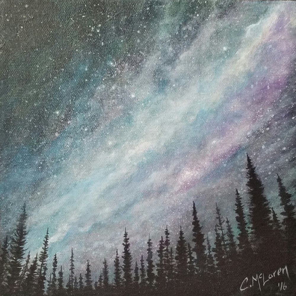 STAR GAZING - SOLD