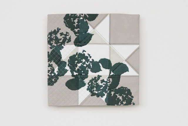 modern evergreen printed ohio star quilt: crisp and gorgeous | by Lovely and Enough