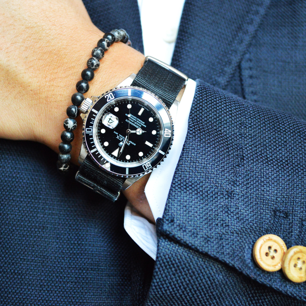 Rolex Submariner x Baxter&Baxter  Black Sea 6mm Bracelet .