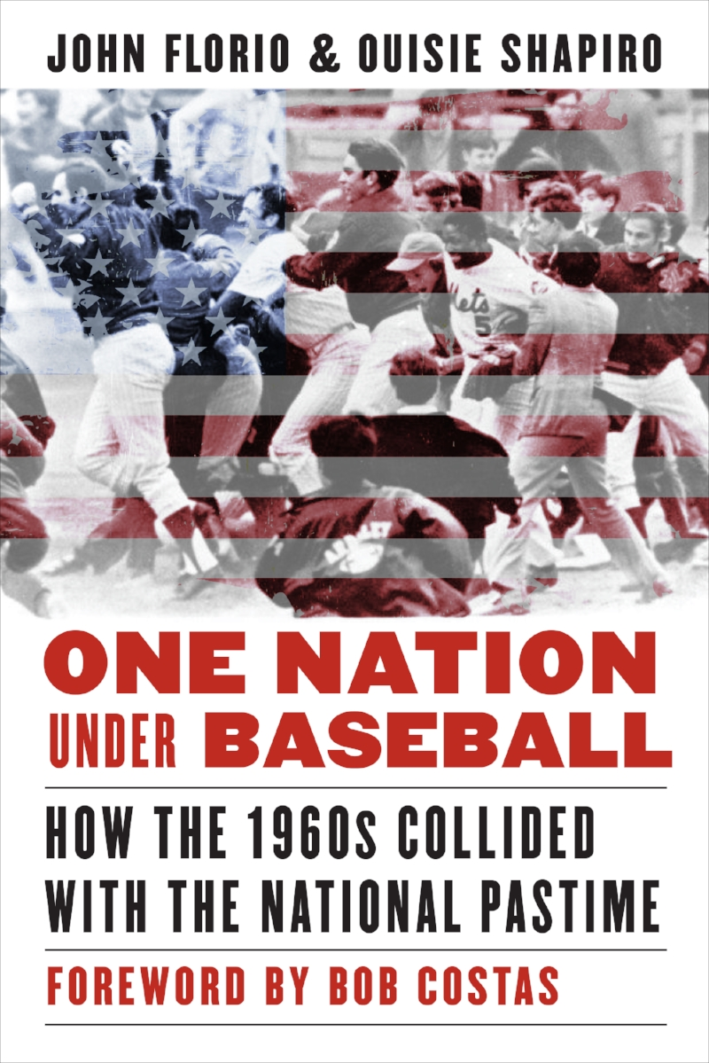 "One Nation Under Baseball (Florio-Shapiro)    A look at race, labor and social issues in baseball during the 1960s.   ""An excellent read.""   – New York Times    ""A riveting account of the decade."" – Dallas News    ""Careful, pointed writing shows us that professional sports should not be viewed in isolation from the society in which they function.""   –    Kirkus Reviews"