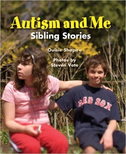 "Autism & Me (Shapiro)    Stories from siblings of children with autism.   ""[Helps] explain both the struggles and triumphs of living with someone who has this disorder."" – School Library Journal    ""Thoughtful fare for a wide age range."" – Booklist"