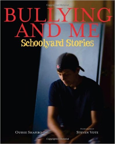 "Bullying & Me (Shapiro)    Stories from children who've been bullied—and those who've done the bullying.   ""Readers will relate… and feel empowered by the varying perspectives offered."" –   Publishers Weekly    ""WOW. This is a wonderful book… I highly recommend this text."" –   Teacher Lisa Colahan, Our Stories Count"