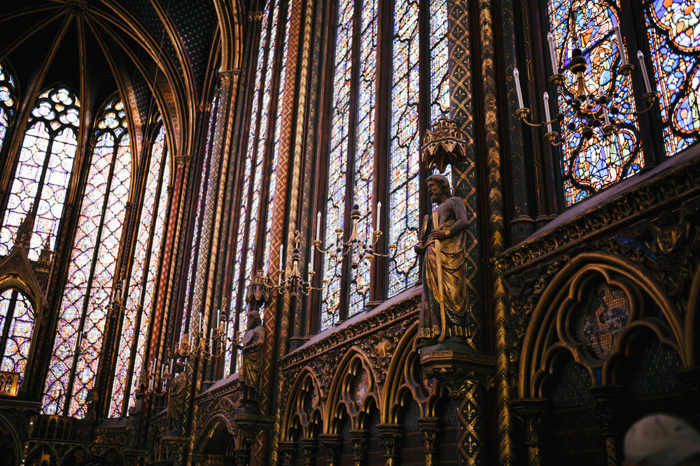 Sainte-Chapelle again. Stunning architecture.