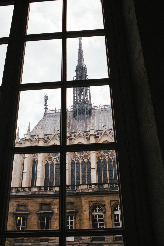 Exterior of Sainte-Chapelle