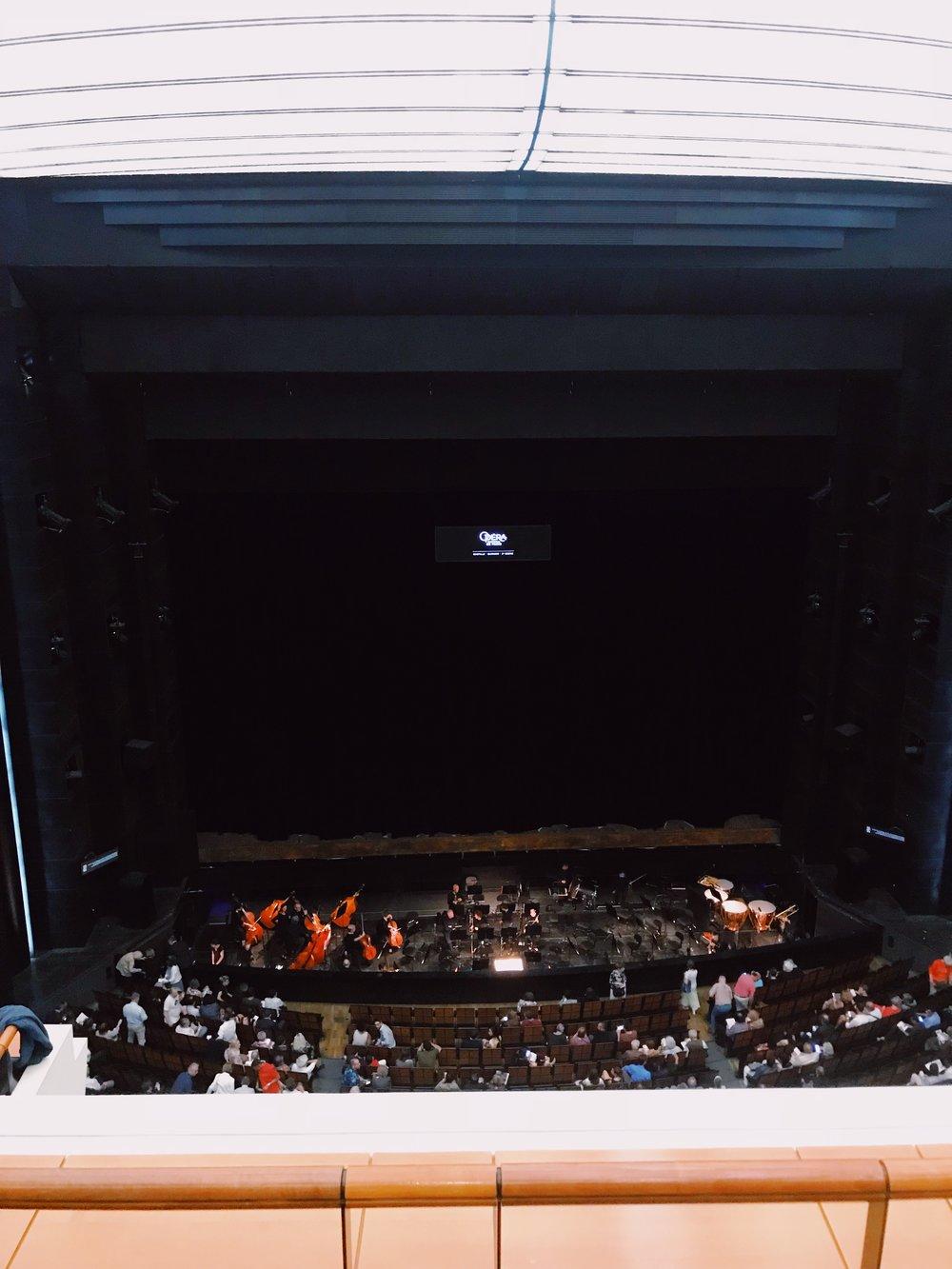 Inside Opera Bastille