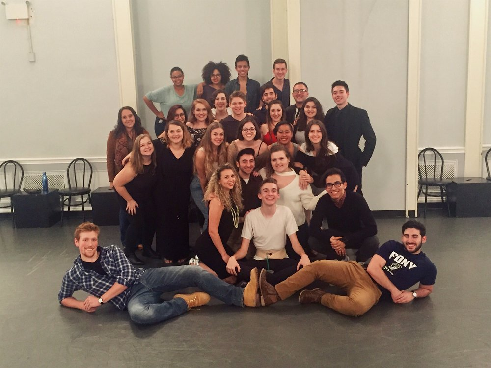 The Cast and Crew of Working: A Musical