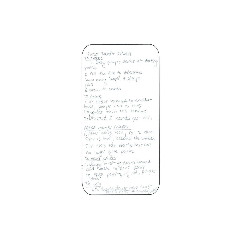 Hopscotch Explorer: Rules First Draft