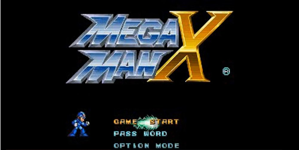 Mega Man X:  Title Screen [3]
