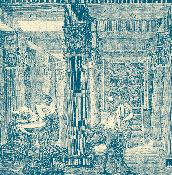 The Great Library - An Ancient Egyptian RPG