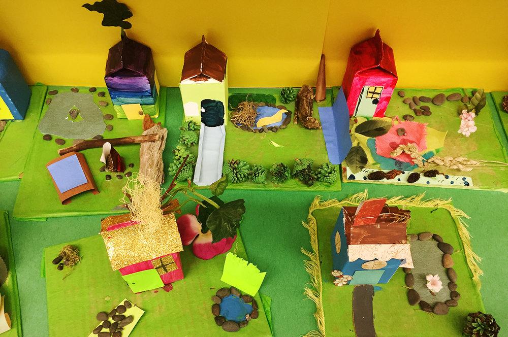 Miniature houses