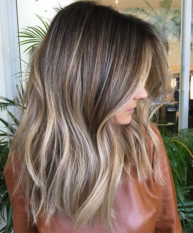 Balayage Foliage Baby Lights Shadow Root Aura Hair Studio