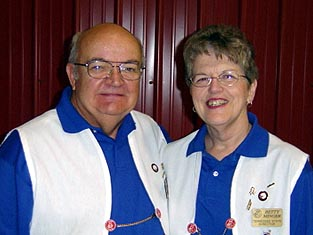 Terry and Betty Minger  2004 - 2009