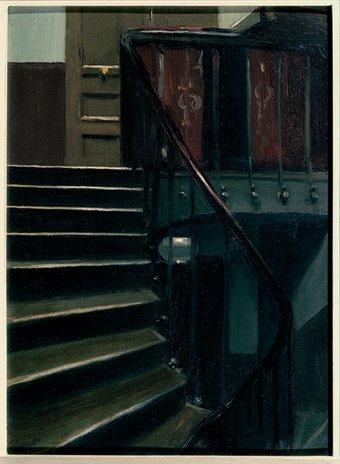 Stairway at 48 rue de Lille 1906