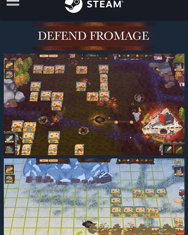 Fortified Swiss is 20% off! Buy now on Steam!  Will you be the hero of Fromage?  https://store.steampowered.com/app/910230/Fortified_Swiss/  #games #videogames #pc #mac #fun #rpg #adventure #survival #towerdefense #gaming #strategy #indie #unity #gamers #gamer #developer #steam #life #goals #pcgaming #pcgamer #pcgames