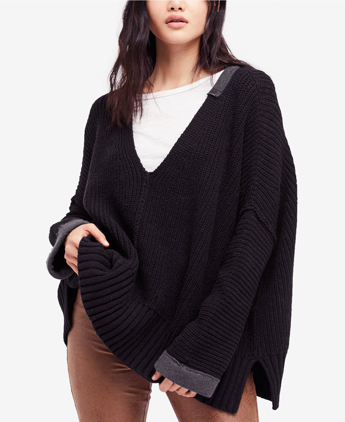 a8458b1692 Free People Take Over Me V-Neck Sweater · September 22