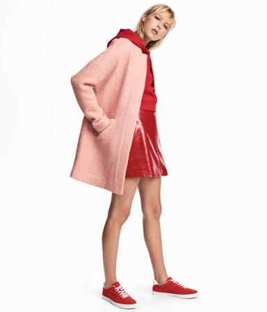 Boucle Yarn Coat