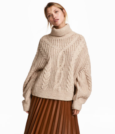HM Knit Wool-Blend Sweater