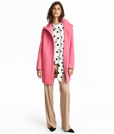 HM Wool Blend Coat