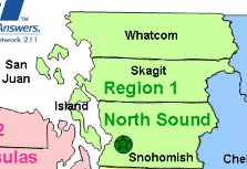 North Sound Call Center Regions