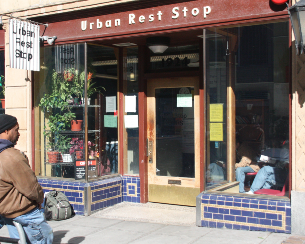 Downtown Urban Rest Stop  1924 9th Ave. Seattle, WA 98101. Phone:  (206) 332-0110   Hours:  Monday-Friday: 5:30AM-9:30PM       Every Friday closed:11:00AM-2:00PM Saturday - Sunday: 8:00AM-3:00PM  Last laundry: 6:00PM | Last shower: sign up by 6:00PM   Services : Showers, self-serve laundry, restrooms, information & referral.