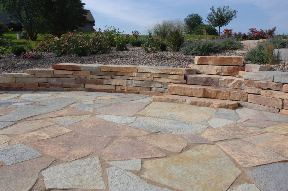 ... Your Garden For Both Patios And Walkways. Because Each Piece Of  Flagstone Is Shaped Different You Can Create A More Rustic Look With This  Paver.