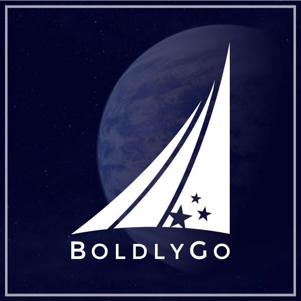 BoldlyGo Institute saught support in enhancing their brand and developing a marketing strategy for the organization to enhance their work in the development of private space science exploration.