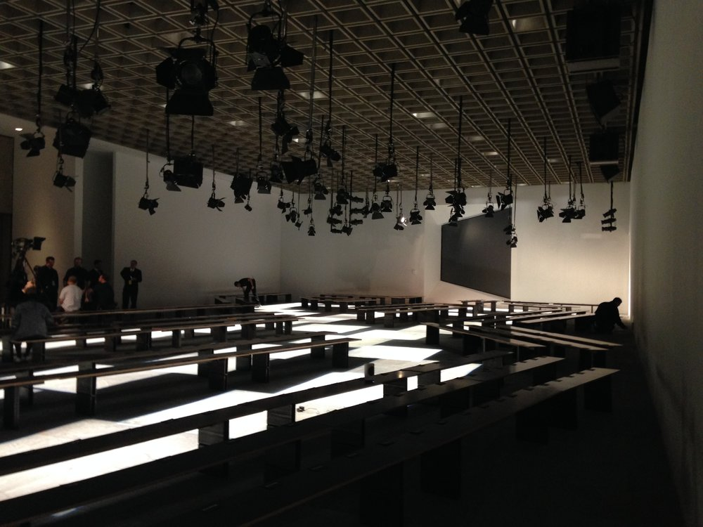 Proenza Schouler Runway Show. Whitney Museum of American Art, February 2015.