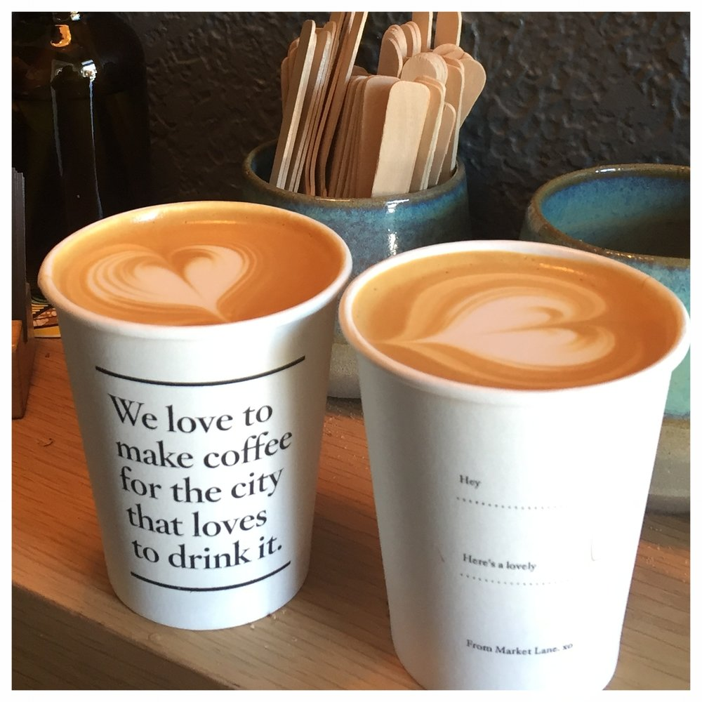 We love coffee.