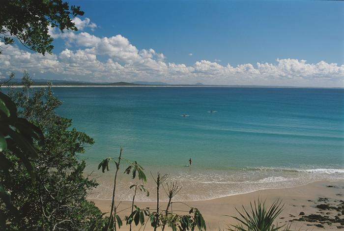 NOOSA'S REPUTATION FOR A PRISTINE, FAMILY BEACH IS WELL DESERVED (PHOTO:  VISIT NOOSA )