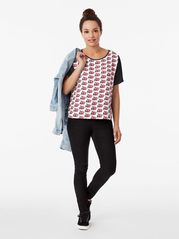 Chiffon Tops - Our native flora designs in a top that you can dress up or down