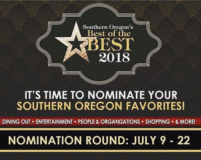 """It's time to show your love for local businesses! If you would be so kind, please give us SALON OPAL a nomination for Southern Oregon's Best of the Best for 2018 in the 'Best Southern Oregon Salon and Spa"""" category under Beauty & Wellness. It's easy - just follow the link in our bio. The nomination round ends on July 22nd, and voting begins on August 6th. Each person participating in the nominations is entered to win a $100 giftcard! Thank you so much for all of your love and support.  #mailtribune #medfordoregon #whattodoinsouthernoregon #medfordsalon"""