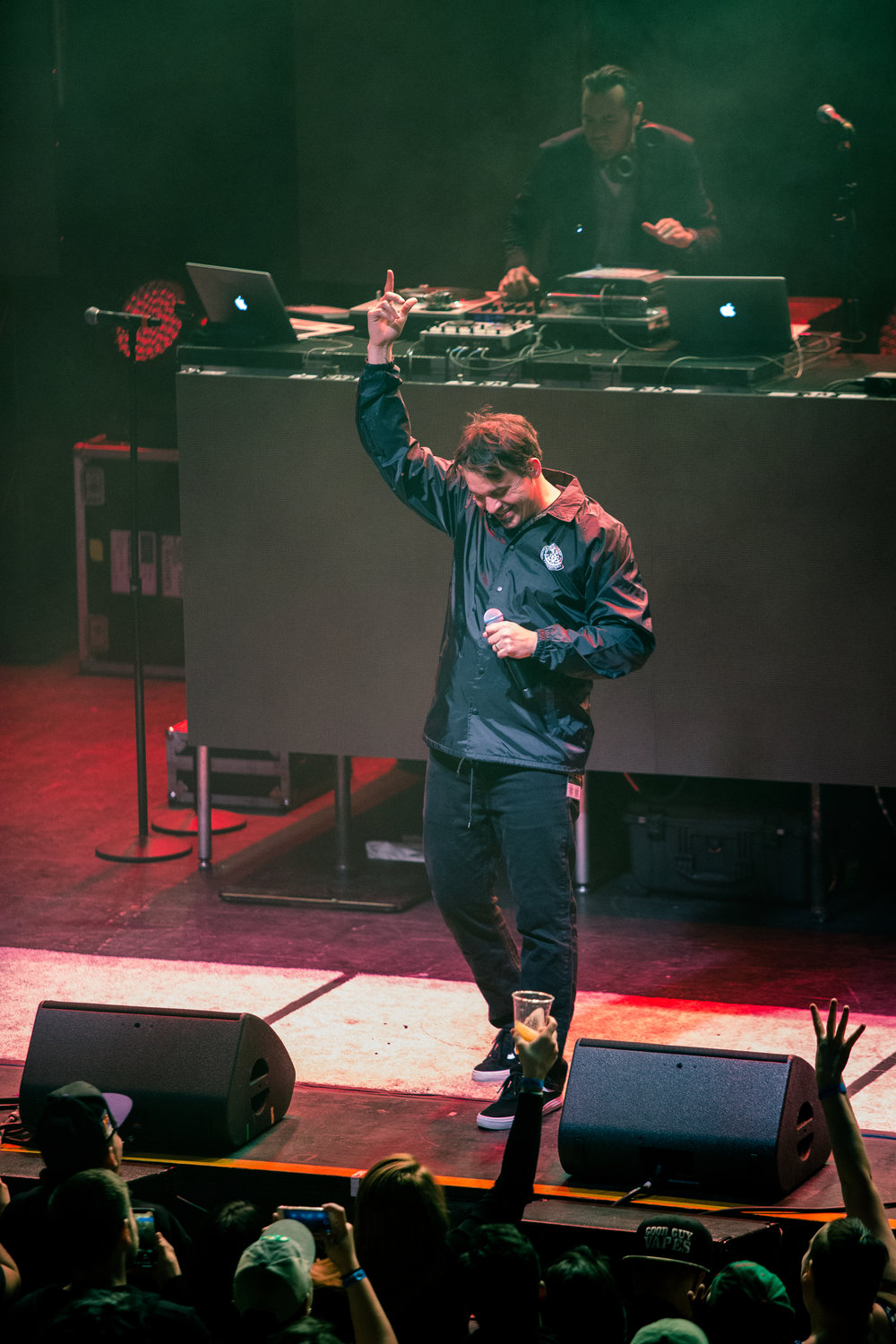 Atmosphere members Sean Daly and Anthony Davis @ Brooklyn Steel, New York, 10.23.2018