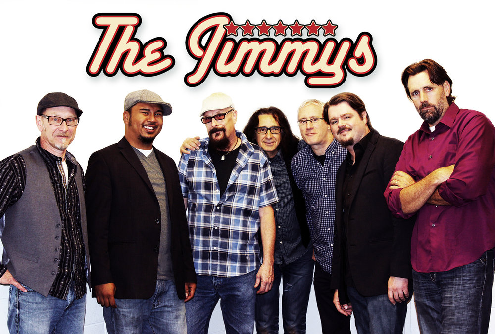 The Jimmys will perform at the Marvin Roth Pavilion in Courthouse Park from 6- 8 p.m. on Wednesday, July 25.
