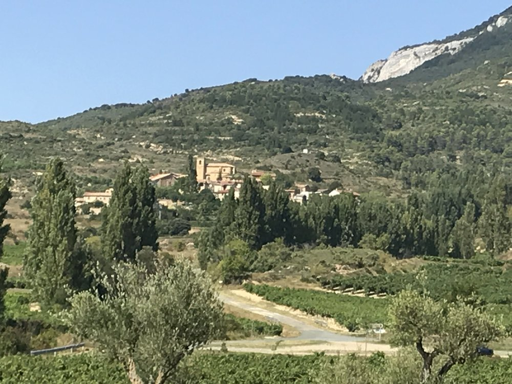 There was a ridiculously quaint, ochre-tinted village on the top of nearly every hillside among the olive and cypress tress and acres of vines.