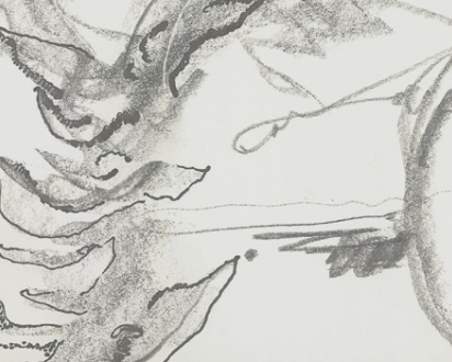 Detail of a drawing.