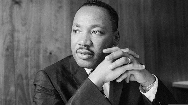 "Martin Luther King Jr.  ""I believe that unarmed truth and unconditional love will have the final word in reality."""