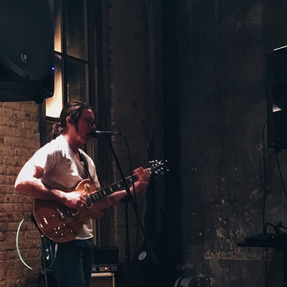 Matt Phillips Music performing at Beer & Banjos at Raleigh Times