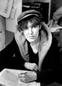 Author Valerie Solanas.