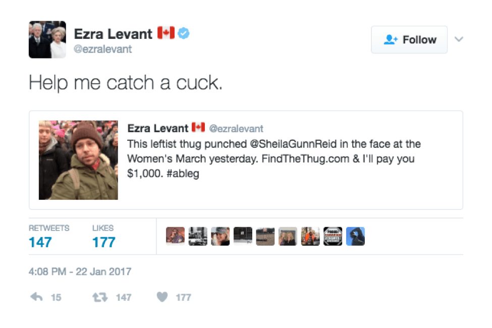 I believe what Ezra is asking for here, is copious amounts of cuckold pornography to be sent to his DMs?