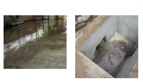 Stormwater damage