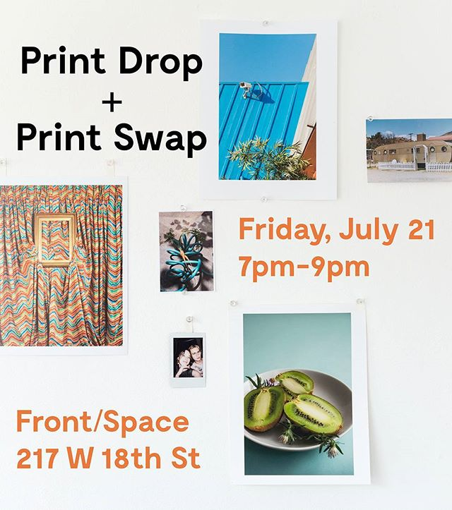 Last chance to bring a photo for PRINT DROP this Friday, at 7PM! Swaps will begin promptly at 8PM!🏁 Come hang out and trade your print with area photographers!