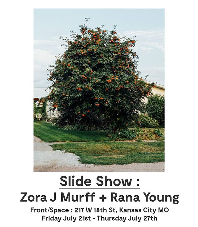 💥Join us tonight from 7-9pm💥 Print Drop + Print Swap, grab one of our zines or books, scope our new space, and see the next installment of Slide Show!💥 See a selection from Zora J Murff and Rana Young's collaborative work Fade Like a Sigh every night in the Front/Space window until July 27!