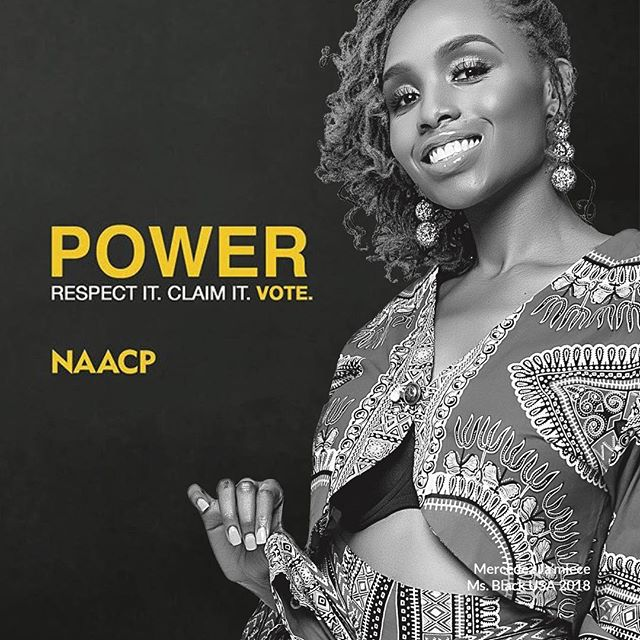 Today is the first day of early voting in Georgia. Let's do this! .  We must claim our power and mobilize our communities and VOTE.  Please join me and the NAACP in taking back our communities and respecting one of our most inalienable rights to vote this upcoming election.  Are you ready for a change? #vote #naacp #powerof5 #activism #getengaged #calltoaction #turnout18 #yourvotematters #election2018 #changeiscoming #msblackusa