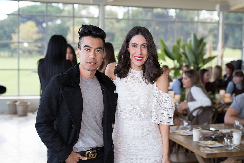 MC  Lisa Raciti  with Influencer Austin Levine from  Officialtinno blog